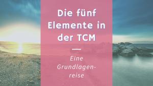 Die fünf Elemente in der TCM – Eine Grundlagenreise